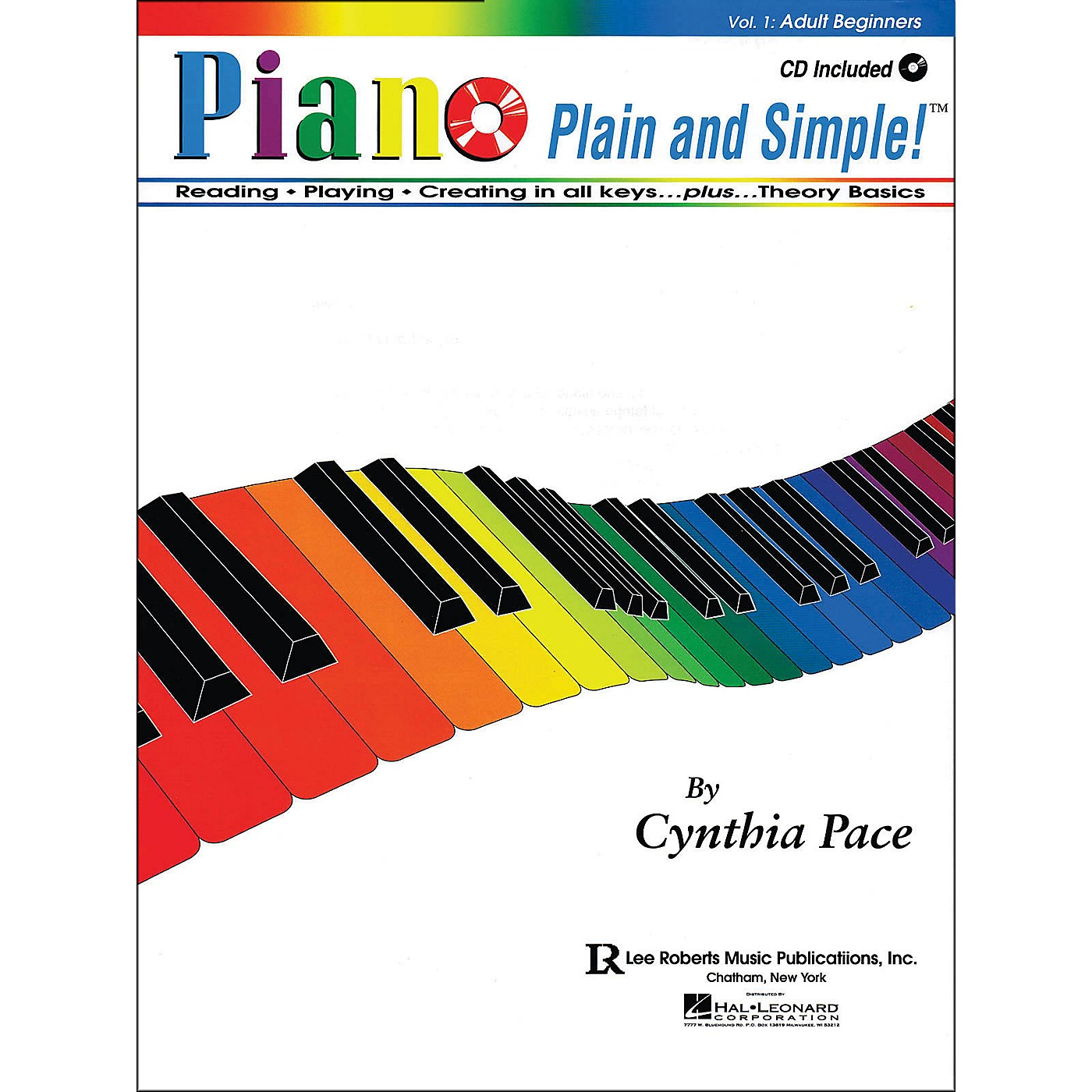 Lee Roberts Piano Plain And Simple with CD thumbnail