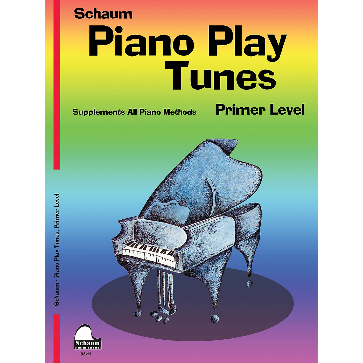SCHAUM Piano Play Tunes, Primer Educational Piano Series Softcover thumbnail