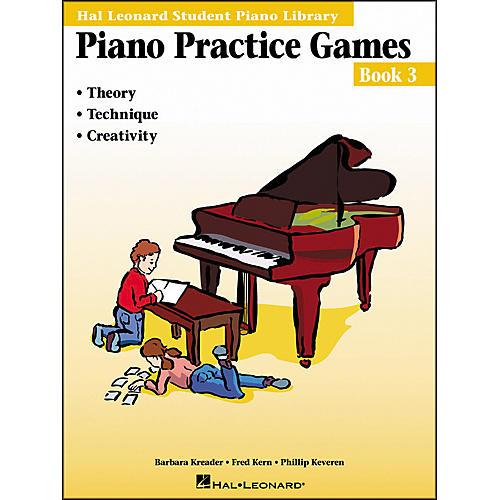 Hal Leonard Piano Practice Games Book 3 Hal Leonard Student Piano Library thumbnail