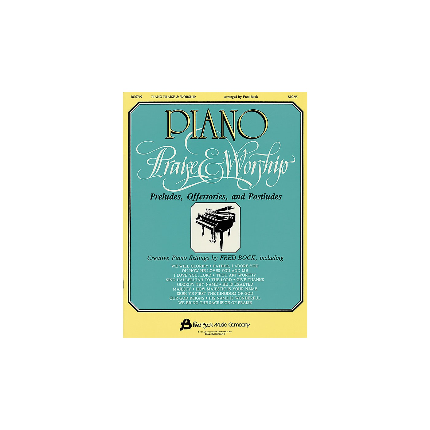 Fred Bock Music Piano Praise & Worship Fred Bock Publications Series thumbnail