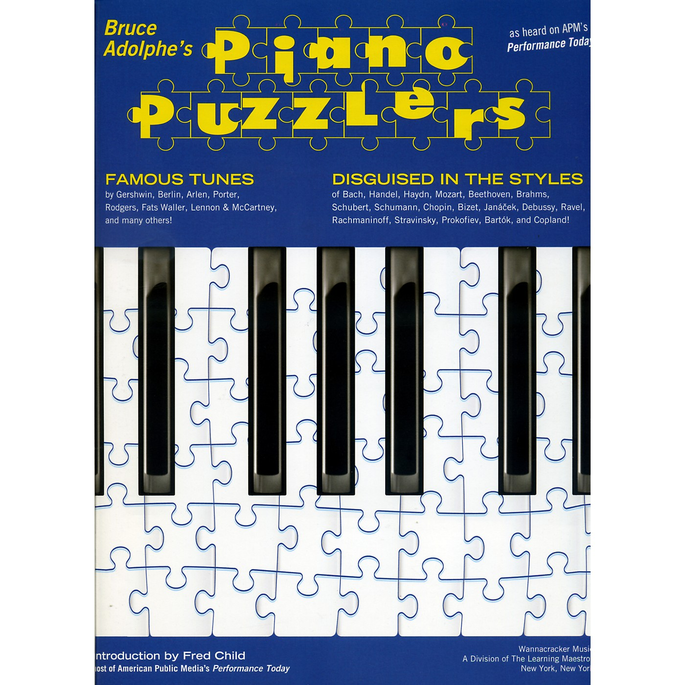 Hal Leonard Piano Puzzlers - As Heard on APM's Performance Today thumbnail