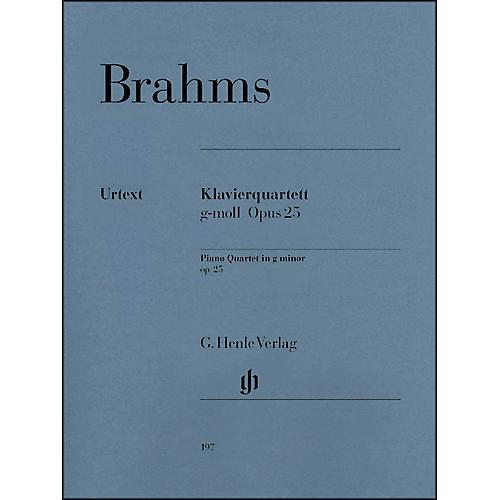 G. Henle Verlag Piano Quartet G minor Op. 25 By Brahms thumbnail