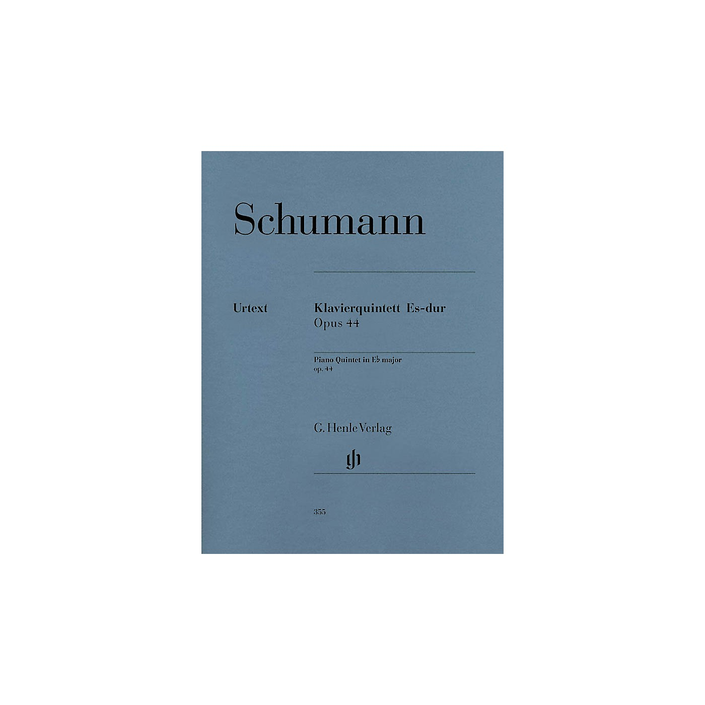 G. Henle Verlag Piano Quintet Eb Major Op. 44 Henle Music Folios Series Softcover Composed by Robert Schumann thumbnail