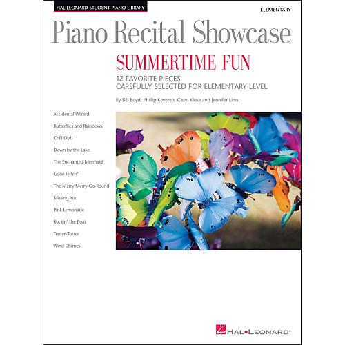 Hal Leonard Piano Recital Showcase - Summertime Fun - Elementary Level Book thumbnail