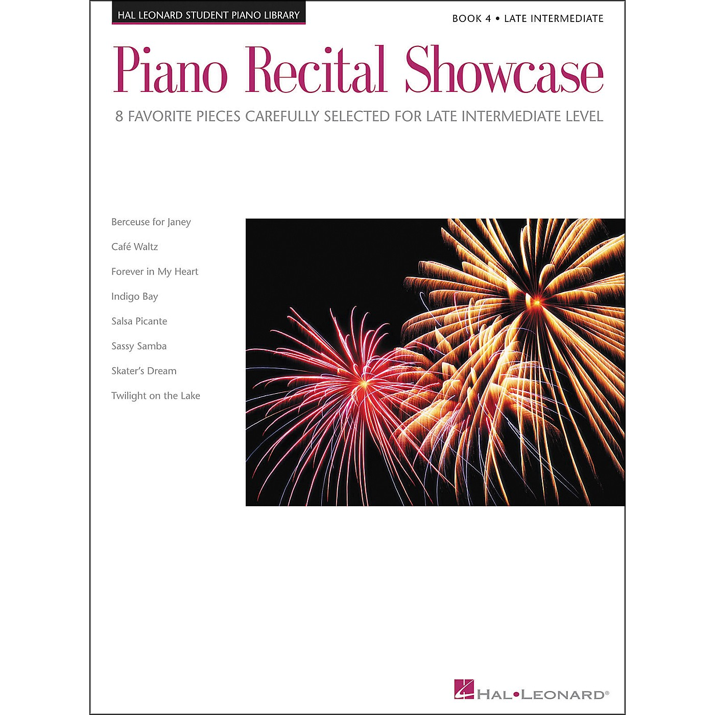 Hal Leonard Piano Recital Showcase Book 4 Late Intermediate Level Hal Leonard Student Piano Library thumbnail