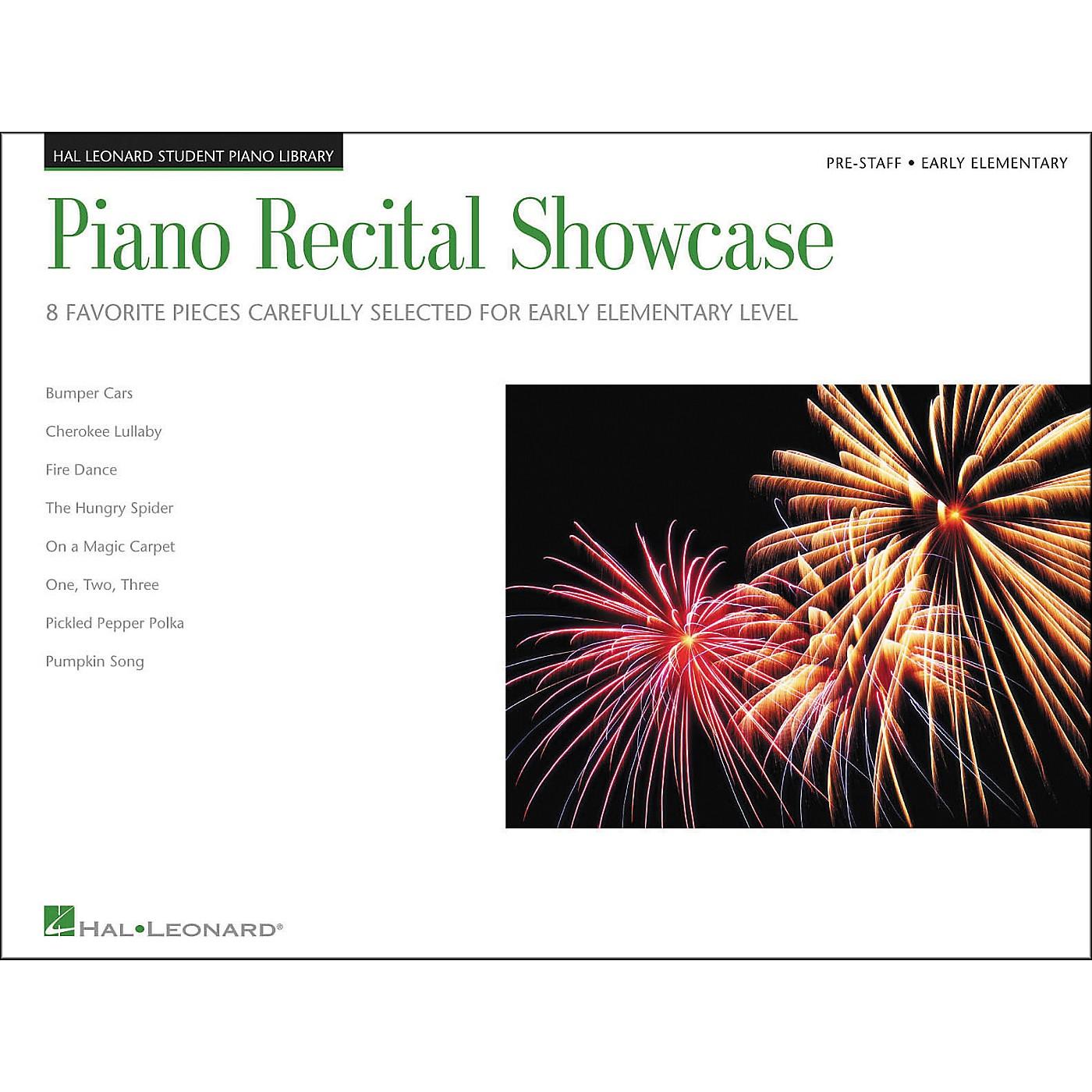 Hal Leonard Piano Recital Showcase Early Elementary Pre-Staff Level Hal Leonard Student Piano Library thumbnail