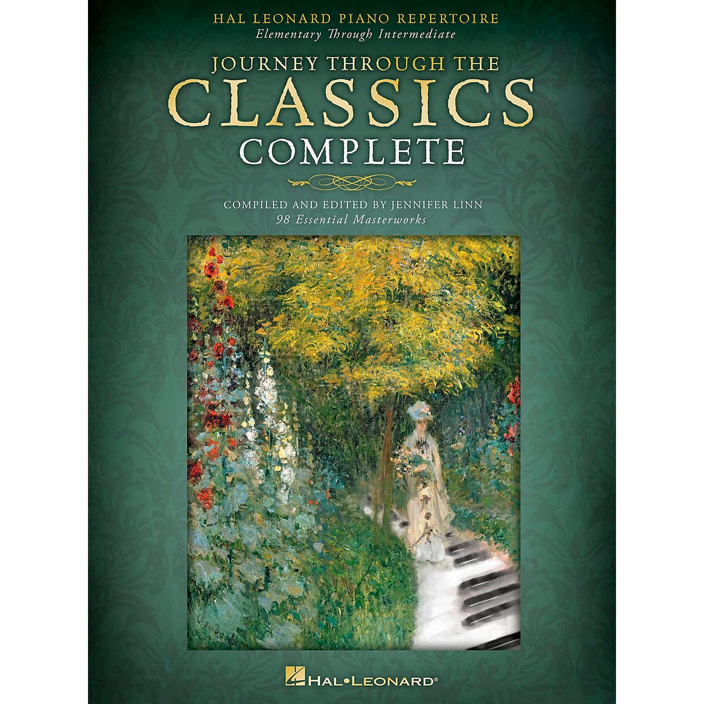 Hal Leonard Piano Repertoire-Journey Through The Classics Complete thumbnail