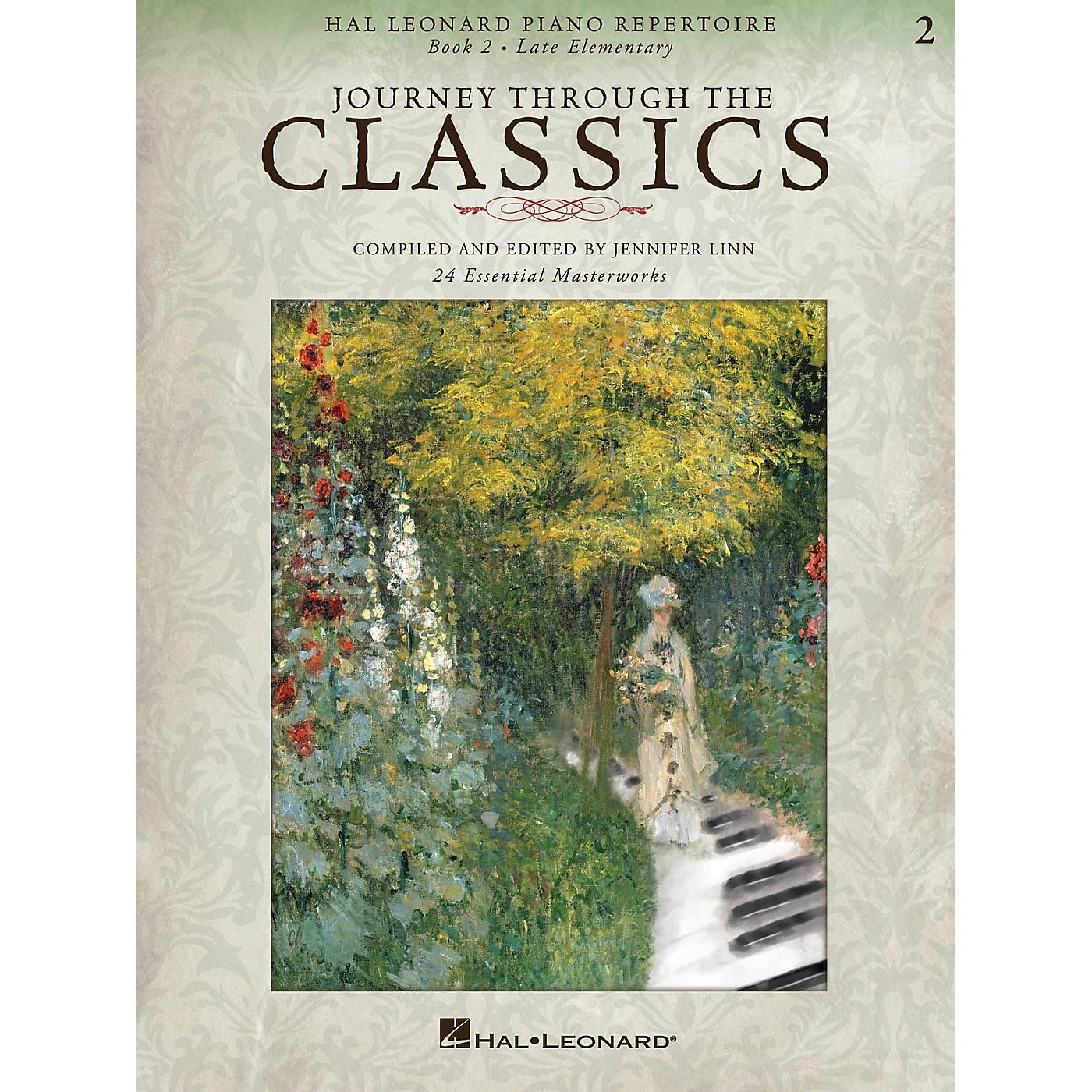 Hal Leonard Piano Repertoire Series - Journey Through The Classics Book 2 Late Elementary thumbnail