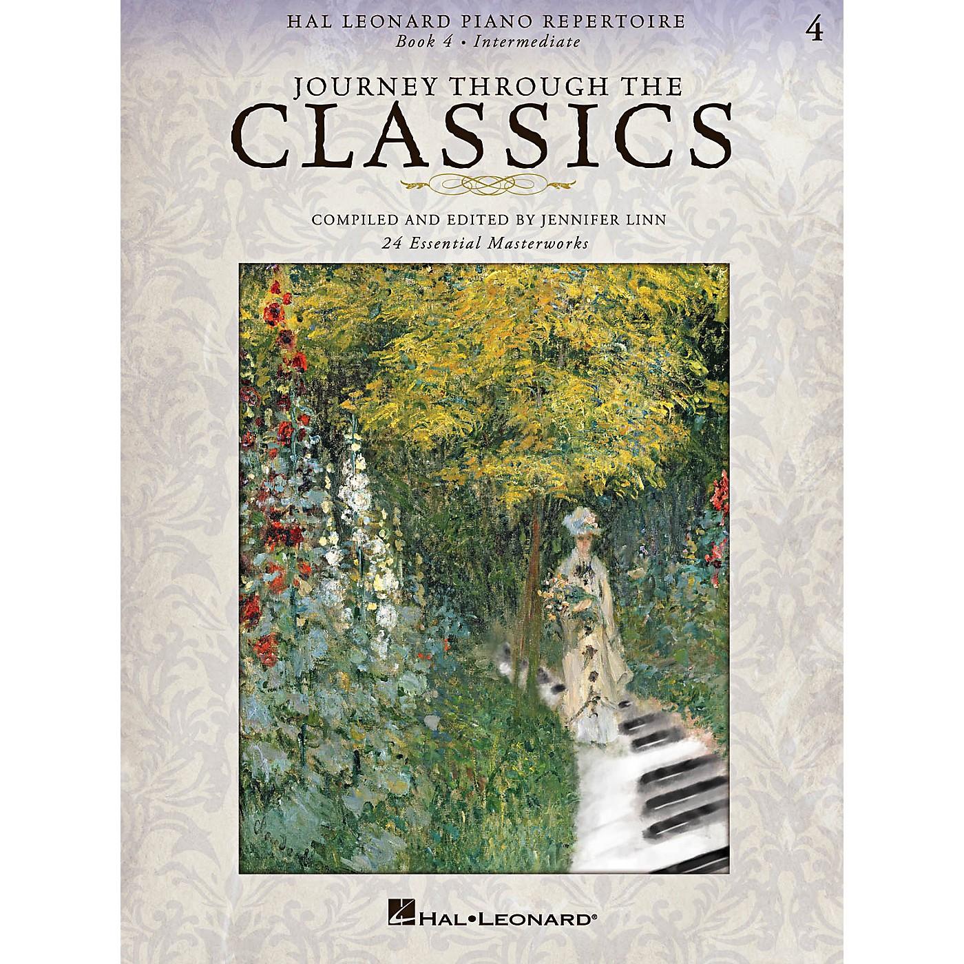 Hal Leonard Piano Repertoire Series - Journey Through The Classics Book 4 Intermediate Level thumbnail