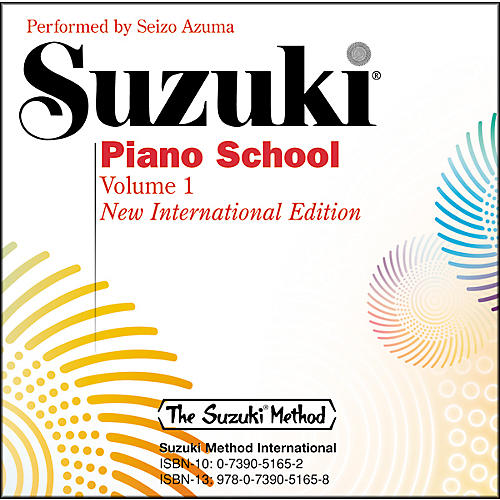 Suzuki Piano School New International Edition CD Volume 1-thumbnail