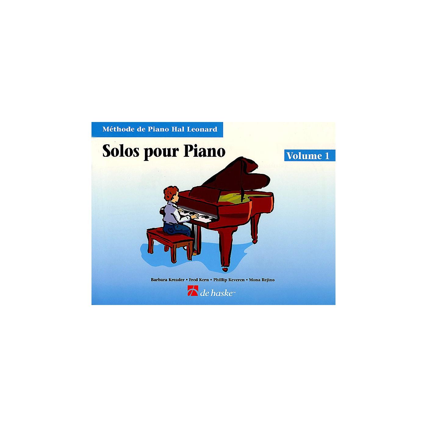 Hal Leonard Piano Solos Book 1 - French Edition Education Piano Lib French Ed Series by Various (Book 1) thumbnail