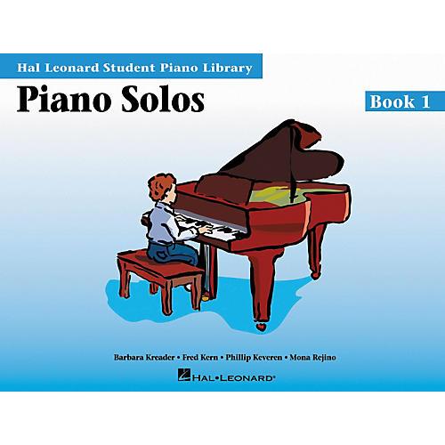 Hal Leonard Piano Solos Book 1 Hal Leonard Student Piano Library thumbnail