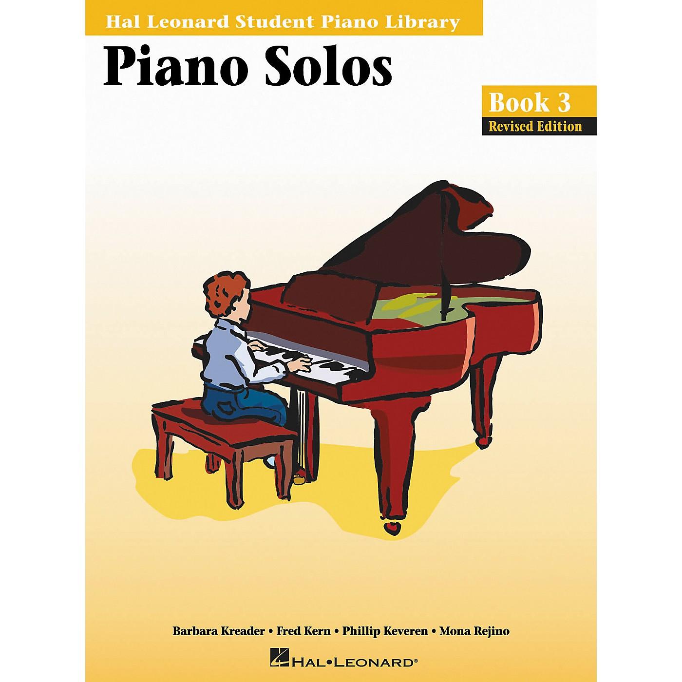 Hal Leonard Piano Solos Book 3 Hal Leonard Student Piano Library thumbnail