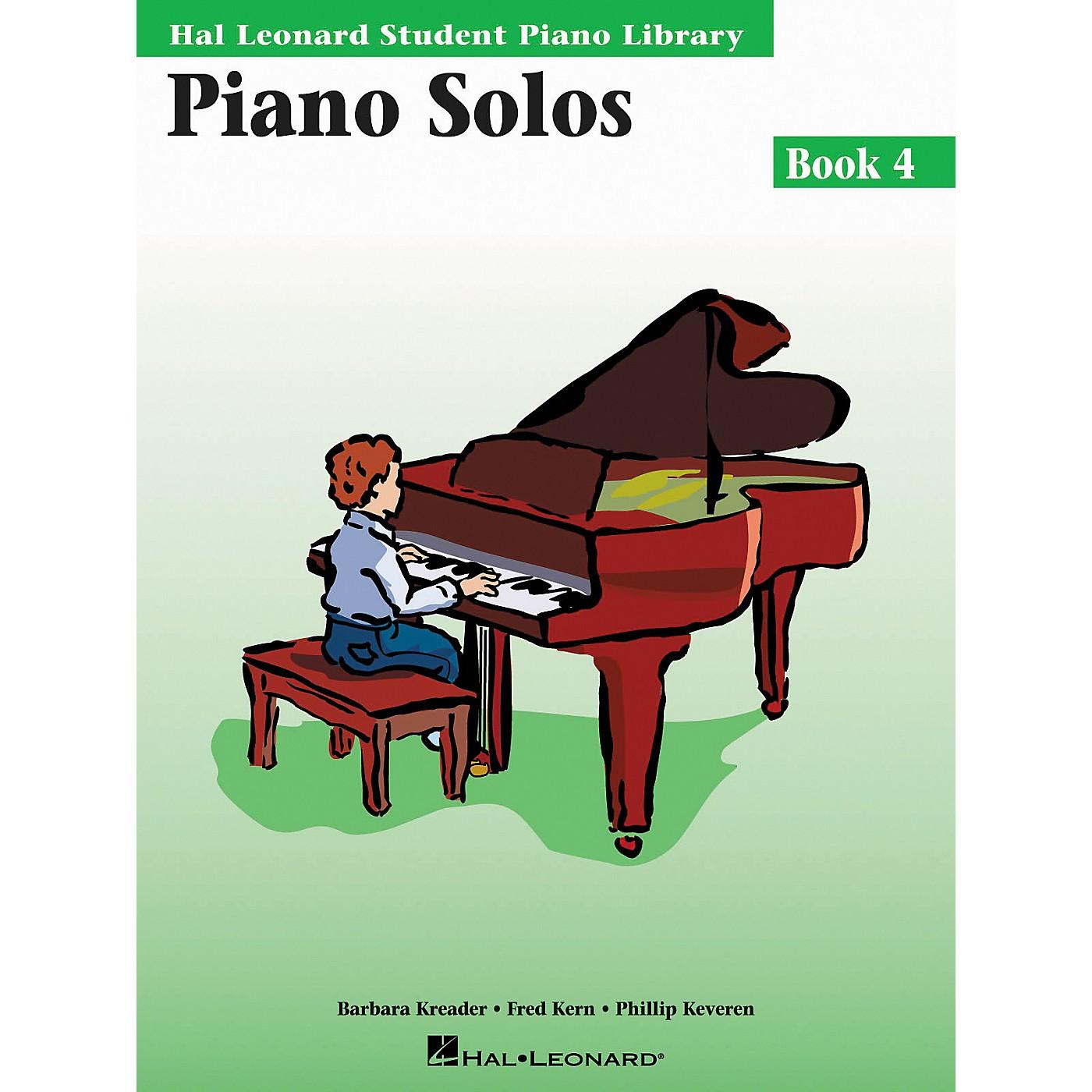 Hal Leonard Piano Solos Book 4 Hal Leonard Student Piano Library thumbnail