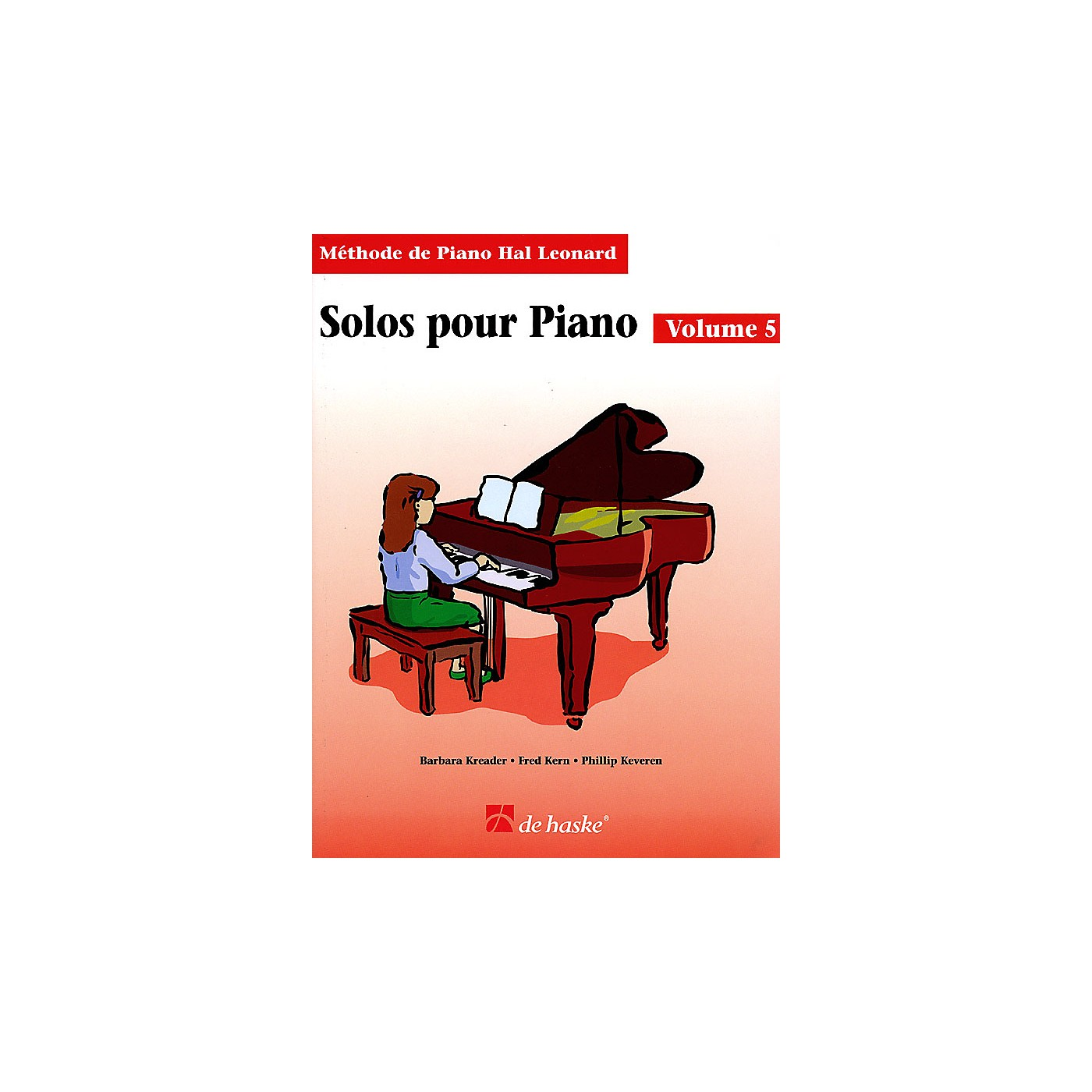 Hal Leonard Piano Solos Book 5 - French Edition Education Piano Lib French Ed Series by Various (Book 5) thumbnail