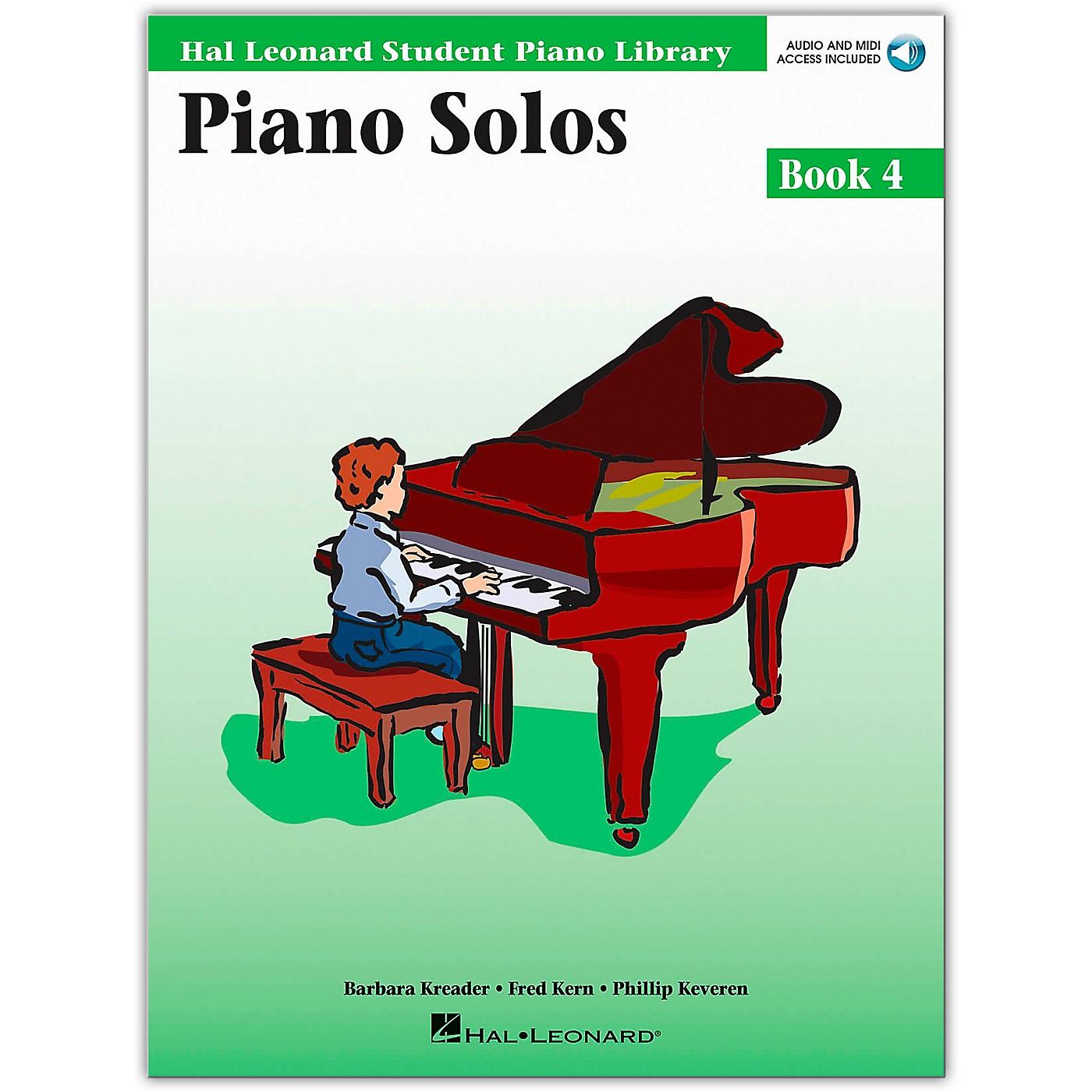 Hal Leonard Piano Solos Book/Online Audio 4 Hal Leonard Student Piano Library Book/Online Audio thumbnail