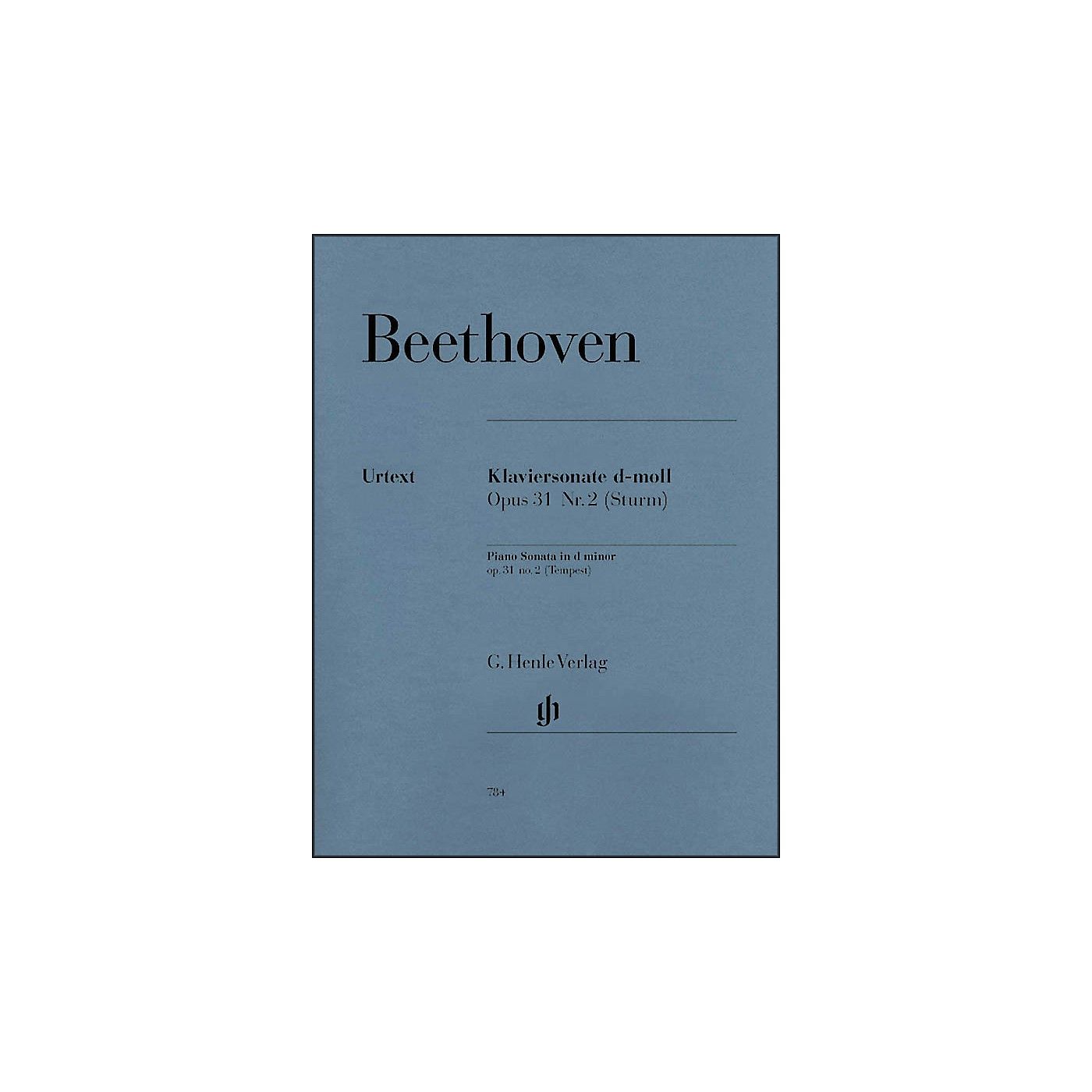 G. Henle Verlag Piano Sonata No. 17 in D Minor Op. 31 Tempest Sonata By Beethoven thumbnail