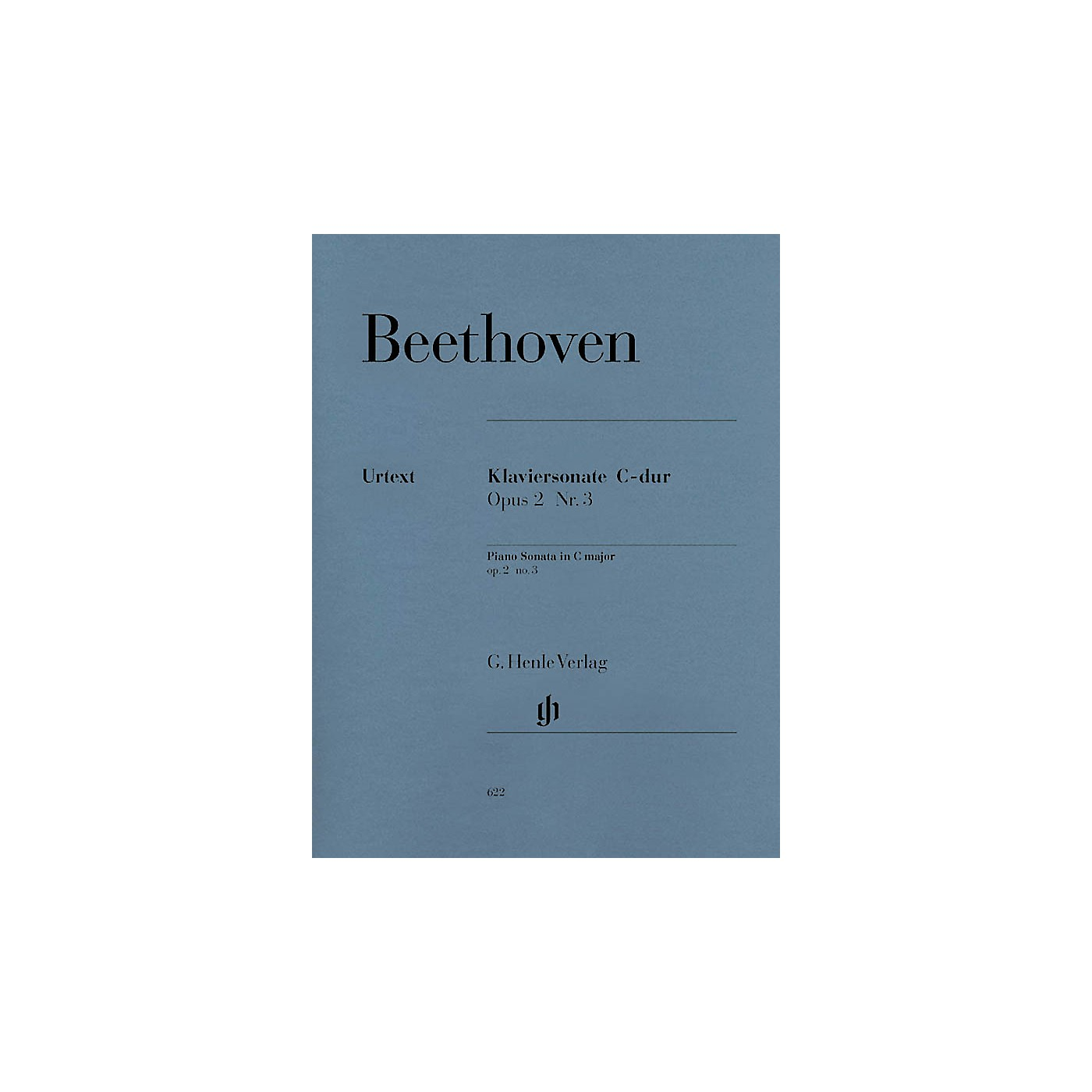G. Henle Verlag Piano Sonata No. 3 in C Major Op. 2, No. 3 Henle Music Folios Series Softcover thumbnail