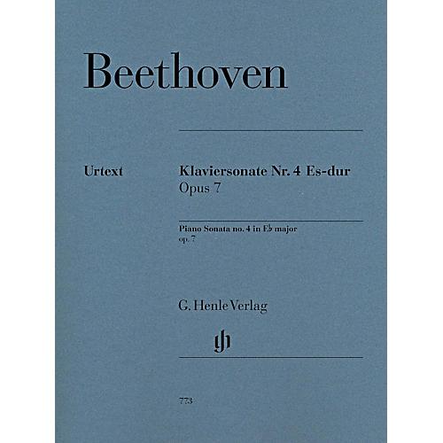 G. Henle Verlag Piano Sonata No. 4 in E-Flat Major, Op. 7 by Beethoven - Henle Urtext Edition thumbnail