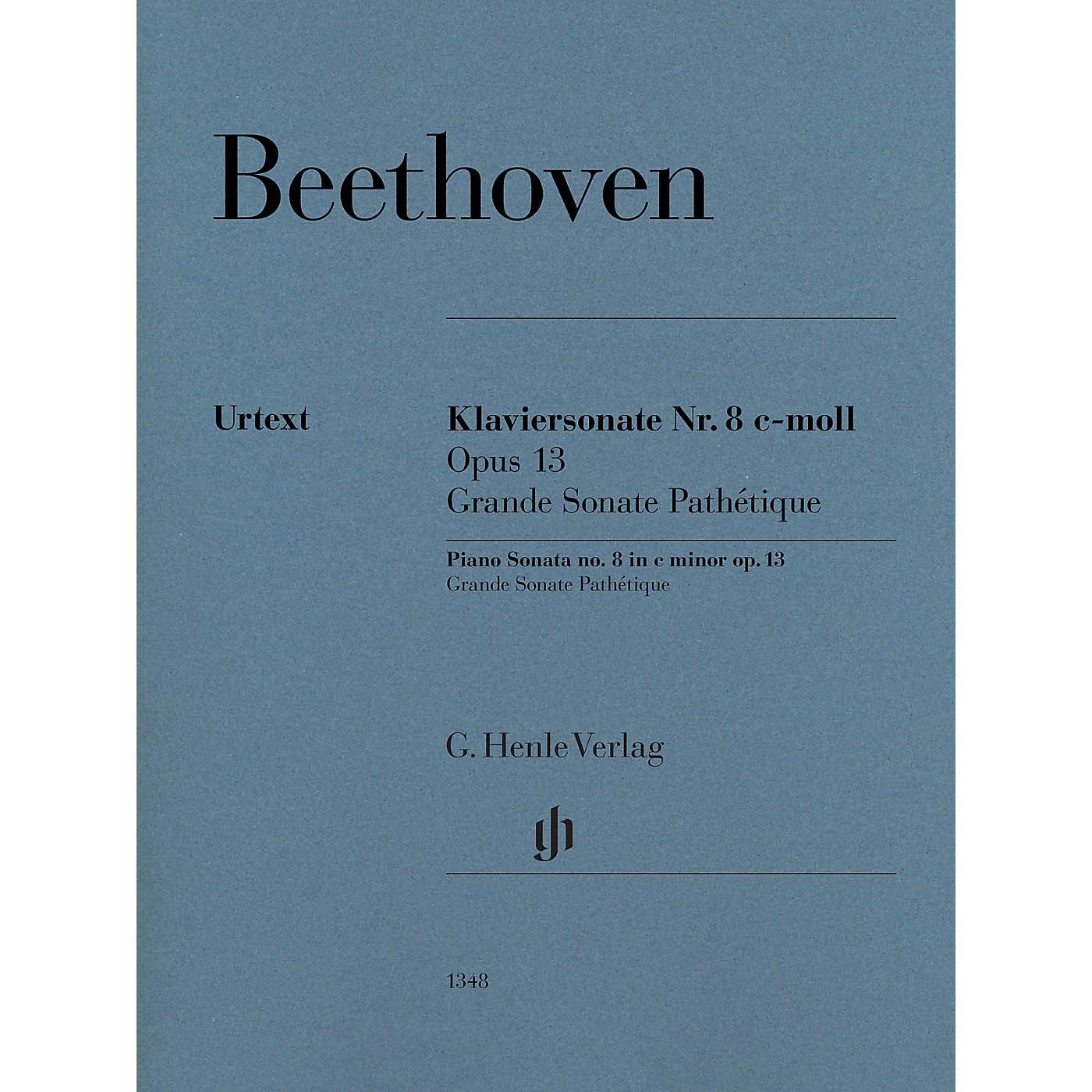 G. Henle Verlag Piano Sonata No. 8 in C Minor, Op. 13 (Grande Sonata Pathétique) by Beethoven thumbnail