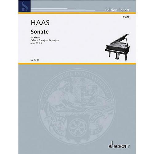 Schott Piano Sonata Op. 61, No. 1 Schott Series thumbnail