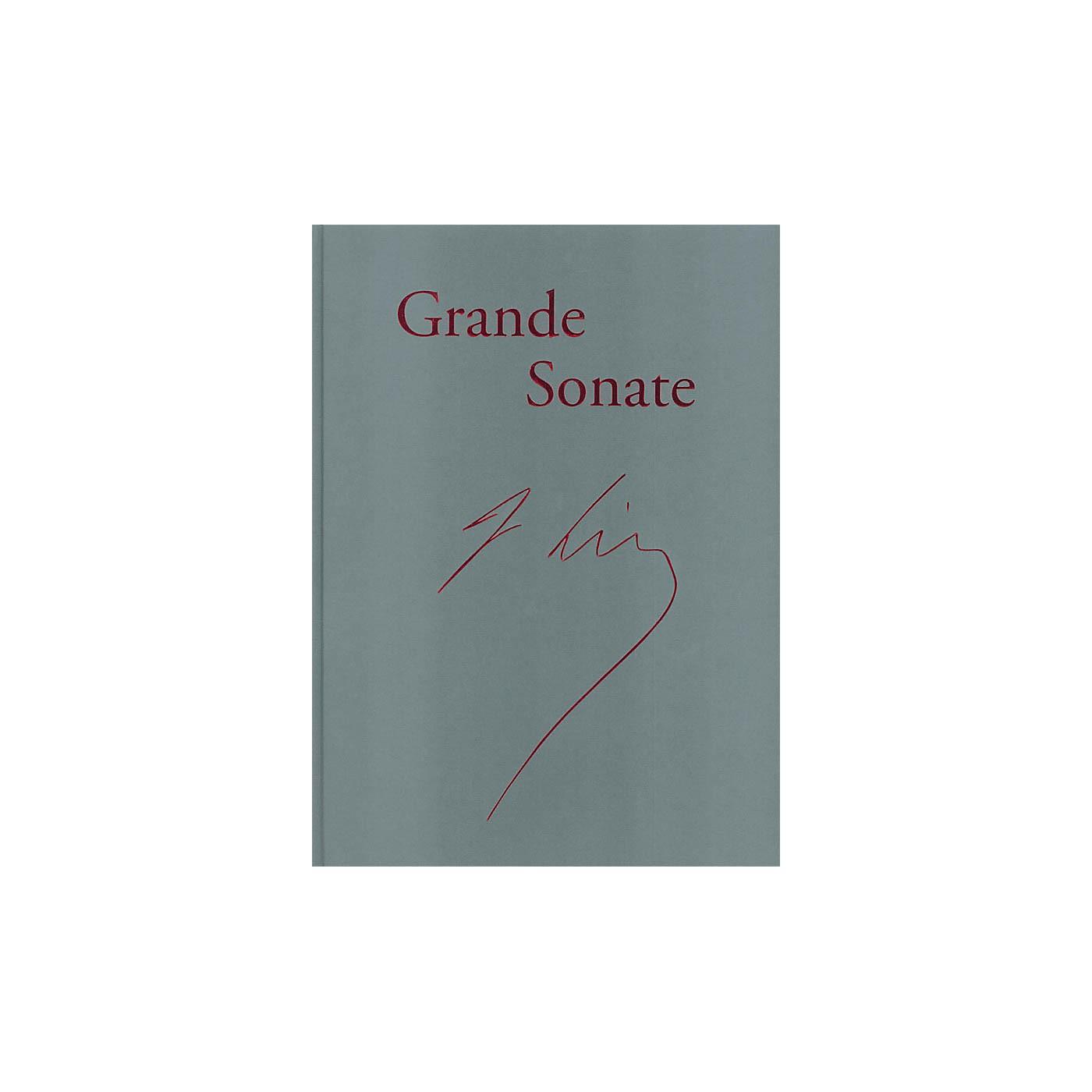 G. Henle Verlag Piano Sonata in B minor ('Grande Sonate' - Revised Edition) Henle Facsimile Series Hardcover thumbnail