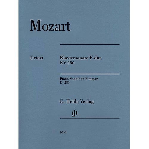 G. Henle Verlag Piano Sonata in F Major K280 (189e) Henle Music Folios by Mozart Edited by Ernst Herttrich thumbnail