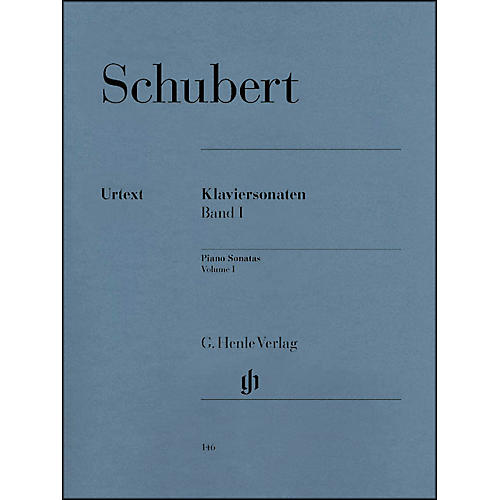 G. Henle Verlag Piano Sonatas - Volume I By Schubert thumbnail