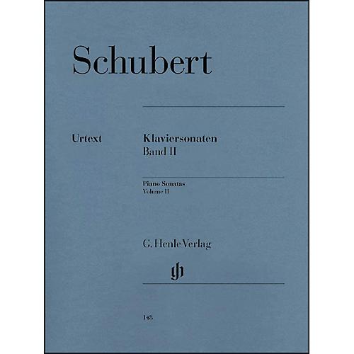 G. Henle Verlag Piano Sonatas - Volume II By Schubert thumbnail