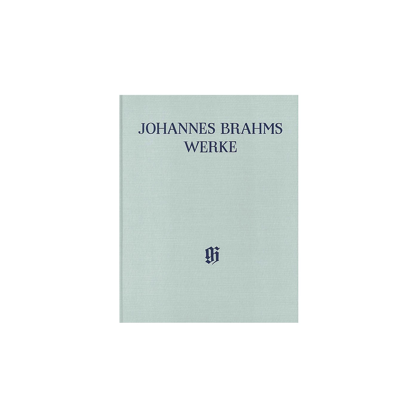 G. Henle Verlag Piano Sonatas Henle Complete Edition Series Hardcover Composed by Johannes Brahms Edited by Katrin Eich thumbnail