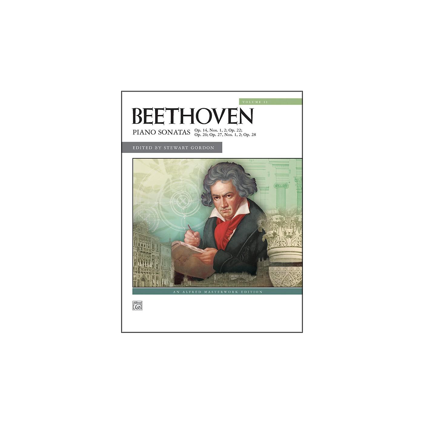 Alfred Piano Sonatas Volume 2 (Nos. 9-15) Volume 2 (Nos. 9-15) thumbnail