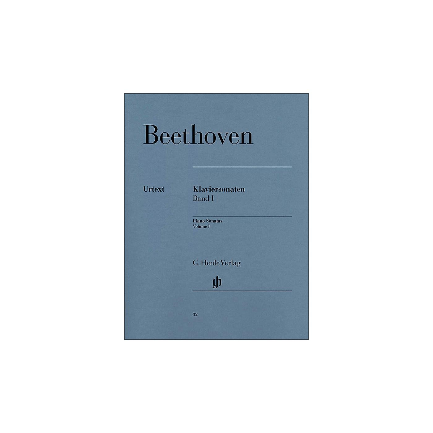 G. Henle Verlag Piano Sonatas Volume I By Beethoven / Wallner thumbnail