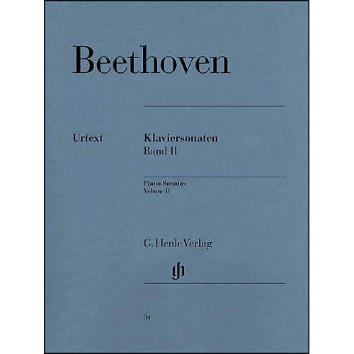 G. Henle Verlag Piano Sonatas Volume II By Beethoven / Wallner thumbnail
