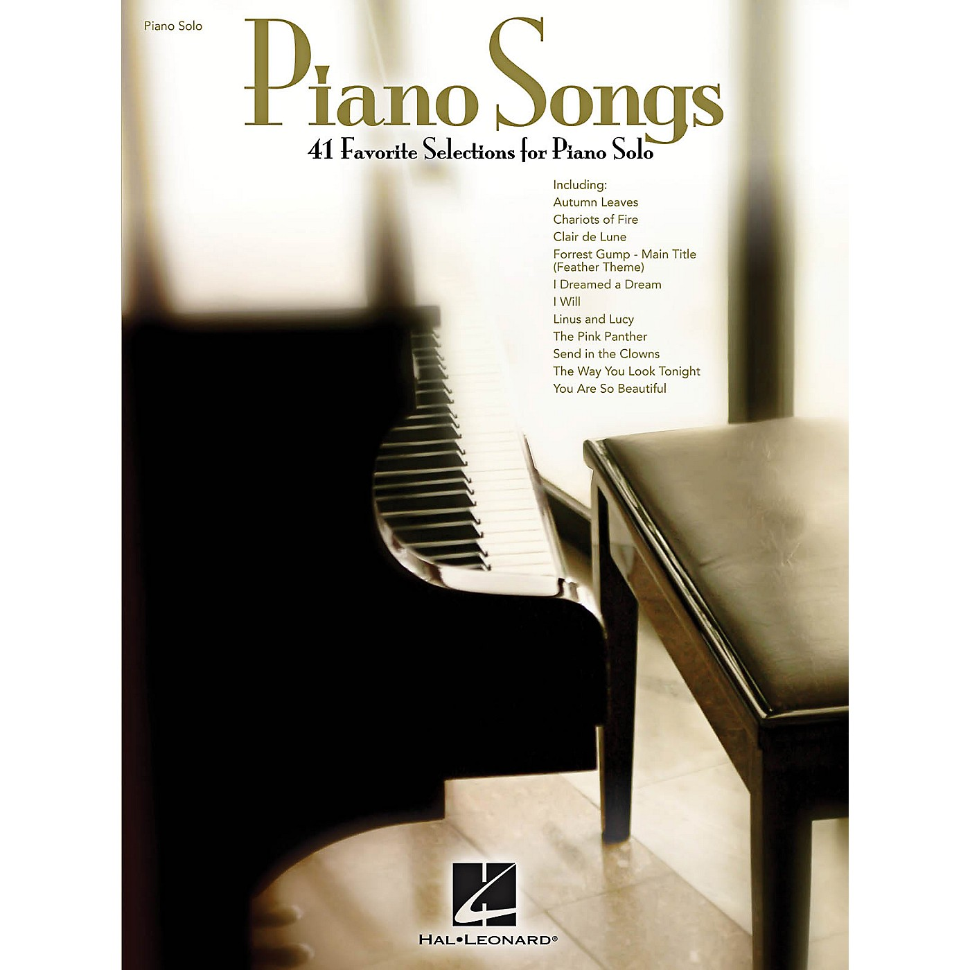 Hal Leonard Piano Songs - 41 beautiful solo arrangements that you'll love to play! thumbnail