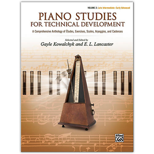 Alfred Piano Studies for Technical Development, Volume 2 Late Intermediate / Early Advanced thumbnail