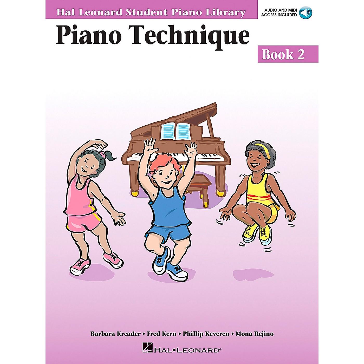 Hal Leonard Piano Technique Book 2 Book/CD Hal Leonard Student Piano Library thumbnail