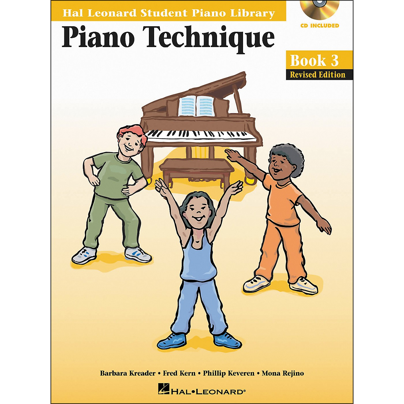Hal Leonard Piano Technique Book 3 Book/CD Hal Leonard Student Piano Library thumbnail