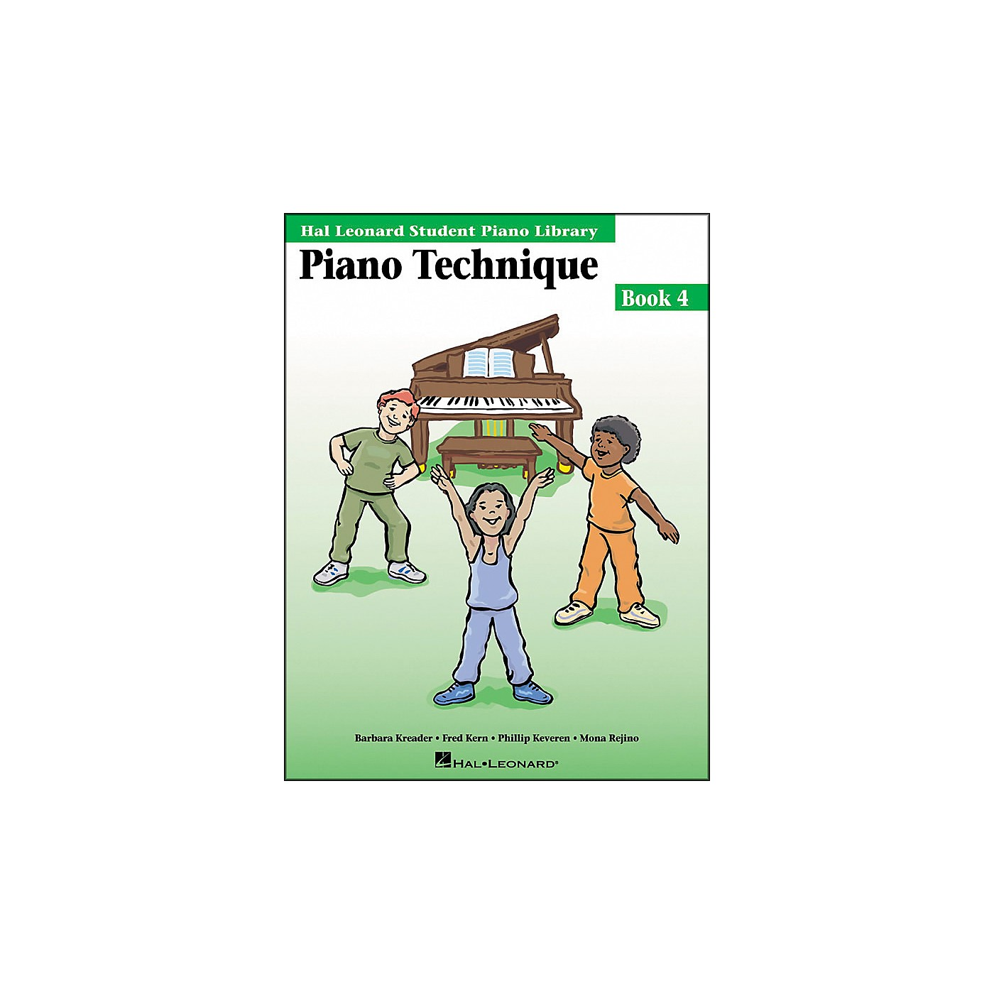 Hal Leonard Piano Technique Book 4 Hal Leonard Student Piano Library thumbnail