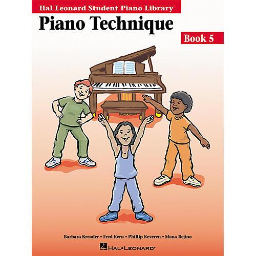 Hal Leonard Piano Technique Book 5 Hal Leonard Student Piano Library thumbnail