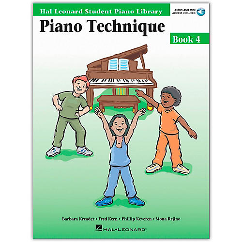 Hal Leonard Piano Technique Book/Online Audio 4 Hal Leonard Student Piano Library Book/Online Audio thumbnail
