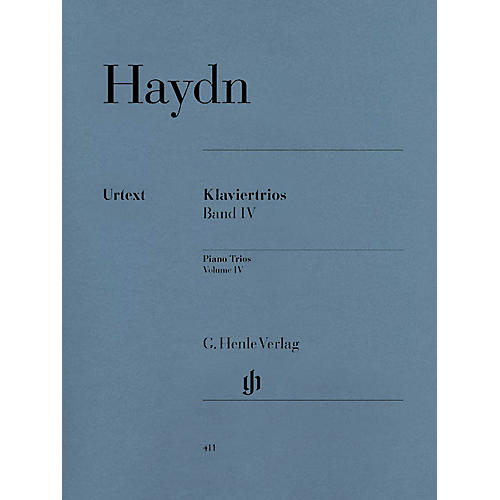 G. Henle Verlag Piano Trios - Volume IV Henle Music Folios Series Softcover Composed by Joseph Haydn thumbnail