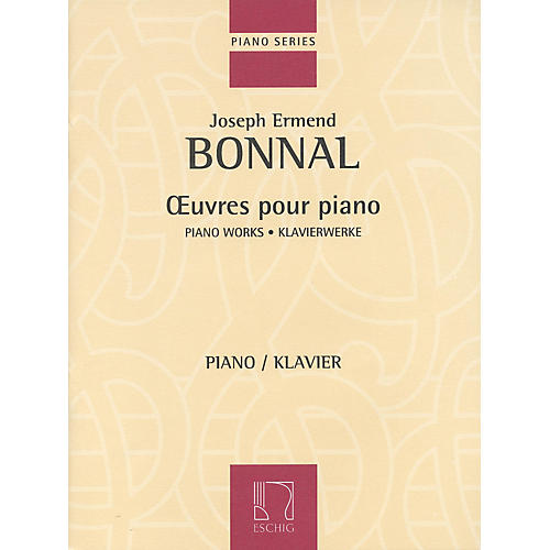 Max Eschig Piano Works (Oeuvres pour Piano) Editions Durand Series Composed by Joseph Ermend-Bonnal thumbnail