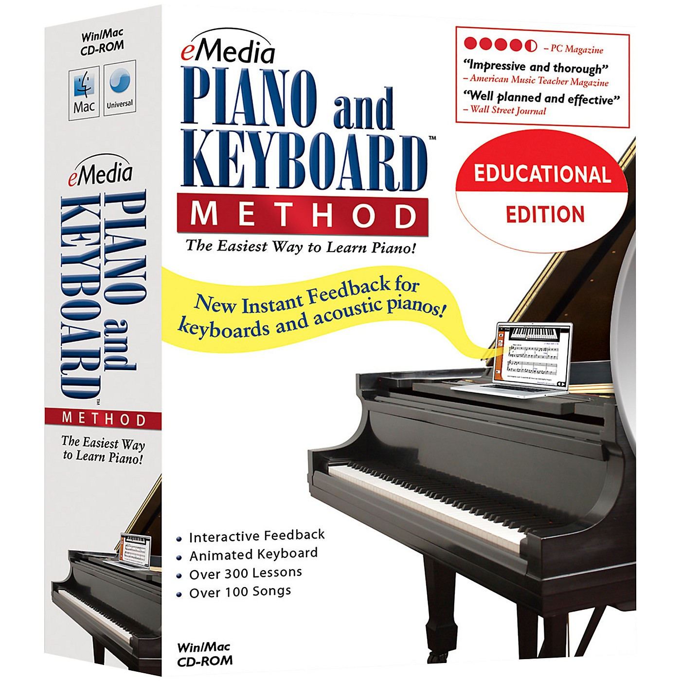 eMedia Piano and Keyboard Method 10 Station Lab Pack (10 Computers/120 Students Ea) thumbnail