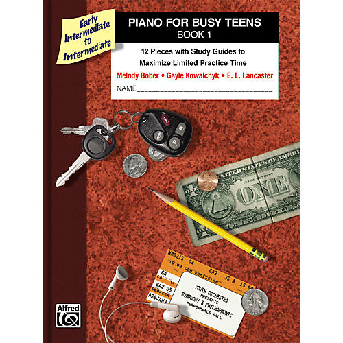 Alfred Piano for Busy Teens Book 1 thumbnail
