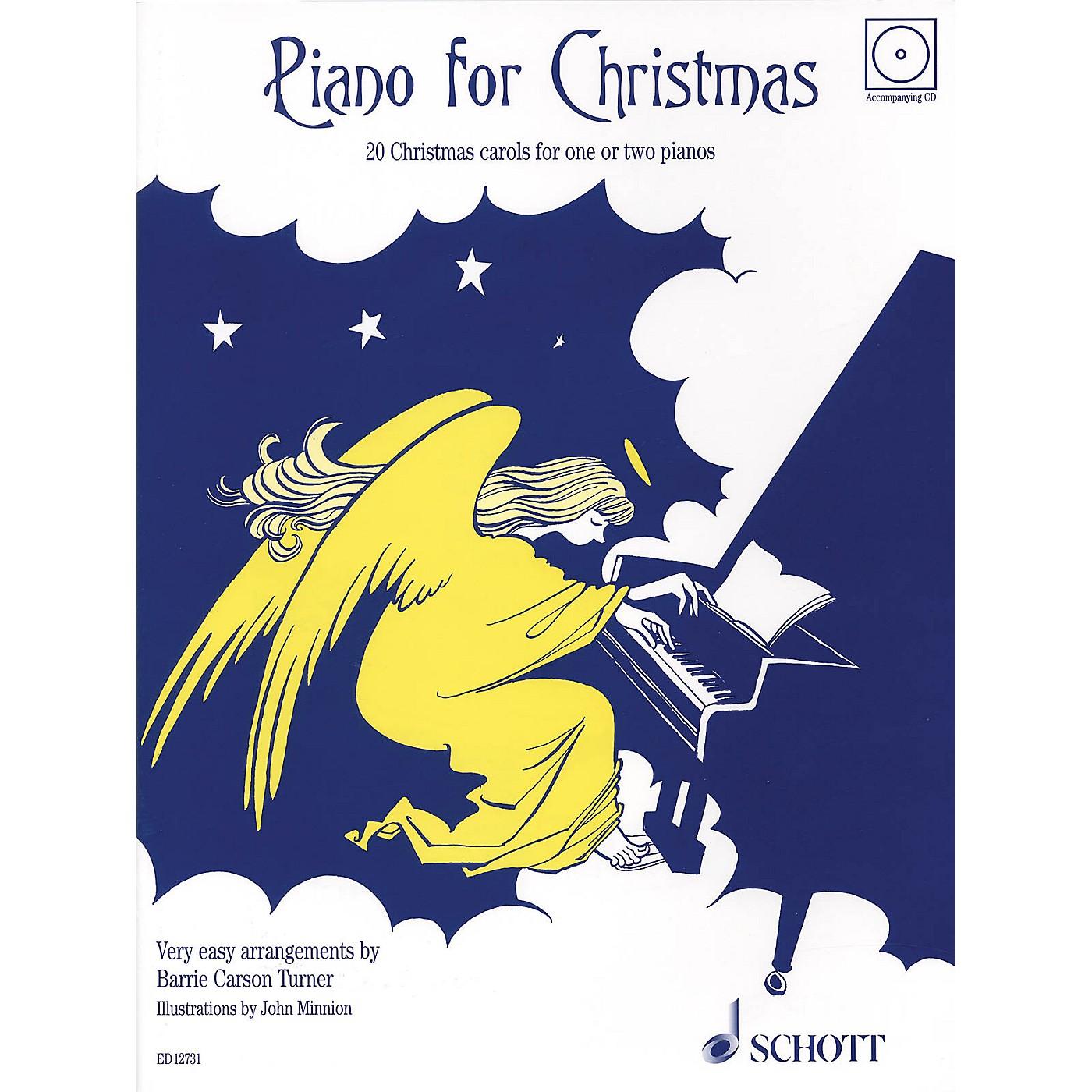 Schott Piano for Christmas (20 Christmas Carols for 1 or 2 Pianos) Schott Series thumbnail