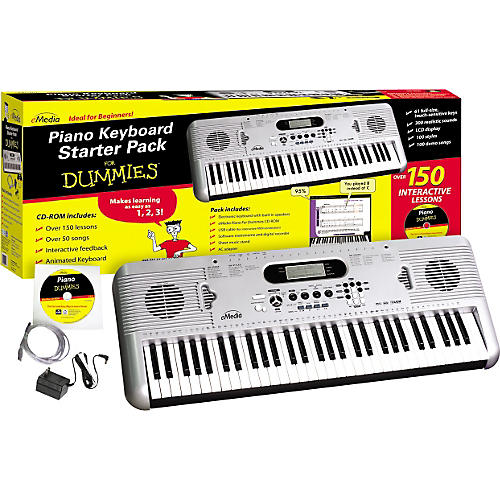 Emedia Piano for Dummies 61-Key Keyboard Starter Pack thumbnail