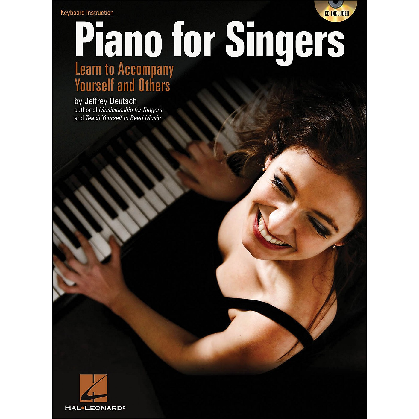 Hal Leonard Piano for Singers: Learn To Accompany Yourself And Others Book/CD thumbnail