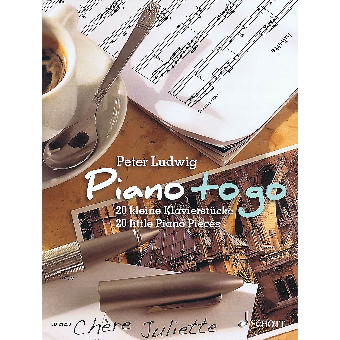 Schott Piano to Go (20 Little Piano Pieces) Schott Series Softcover Composed by Peter Ludwig thumbnail