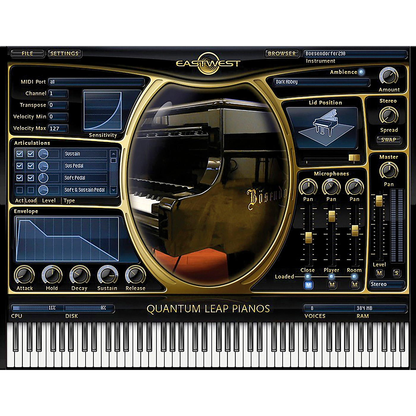 EastWest Pianos - Steinway D Gold thumbnail