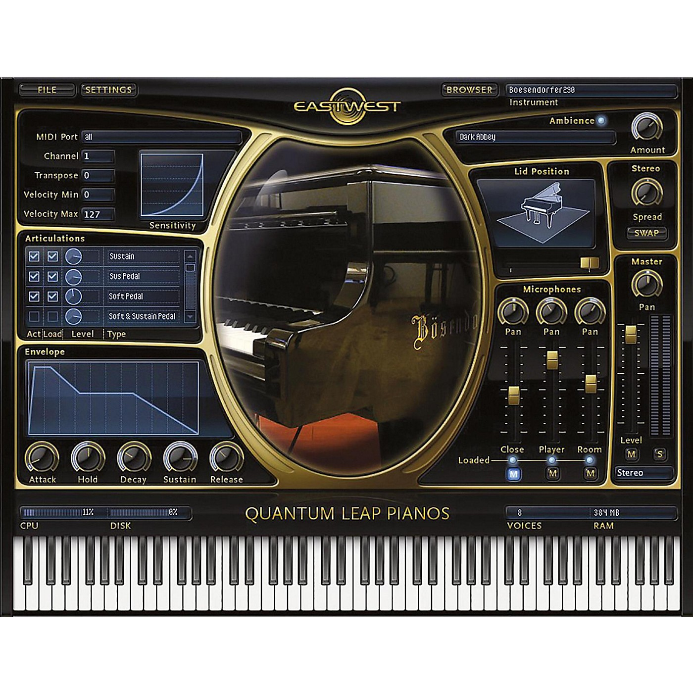 EastWest Pianos Gold Edition thumbnail